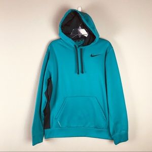 Nike Knockout Teal Therma Fit Hoodie